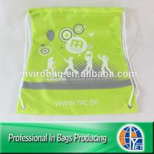 Lead-free Transfer Printed Drawstring Small Cinch Bag