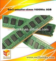 Desktop 8gb ddr3 ram 1600Mhz memory module