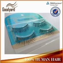professional materials silk human hair strip eyelashes korean