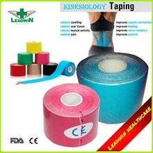 Waterproof sport strapping tape printed kinesiology tape for muscle therapeutic