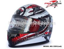 Modern Face Motorcycle Helmet Flip Up Helmet Anti-scratch PC Visor