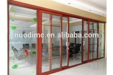 China supplier 2014 New style heavy duty bacony aluminium sliding glass doors