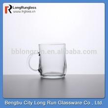 LongRun alibaba china bengbu wholesale glassware 8oz clear tea glass cups