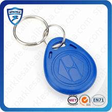 Pofessional rfid factory supplier 125khz TK4100 T5577 rfid key fobs for access control