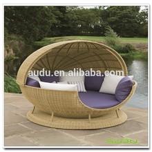 Audu Apple Rattan Modern Round Bed Designs