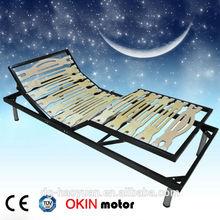 Adjustable Single Wooden Slat bed base electric bed base