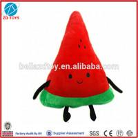 watermelon shape doll plush toy pillow