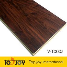 Antislip wood look interlocking pvc vinyl floorboard