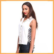 stripe new blouse back neck design