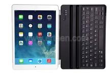Ultrathin Wireless Bluetooth Keyboard Aluminum Cover For iPad Air