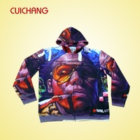custom design mens hoodies with sublimation printing