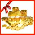 Personalizzati oro/argento placcato moneta/lingotti bar/banconote/ornamento