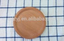 small size wooden coaster ,wood mug plate