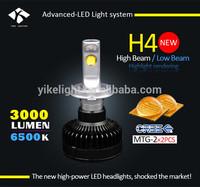 H4 High Low Beam Car Headlight Led car light led 12v 21w CE RoHS