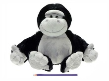 30cm kindly gorilla plush toy