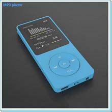 New Arrival Ultrathin 4gb MP3 Player With voice recorder 1.8 Inch Screen Original RUIZU X02 With FM E-Book Clock Data Mp3 Player