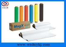 rubber magnet/Isotropic flexible rubber magnet with color PVC in roll or sheet