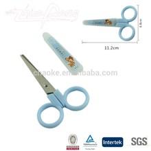 "4"" FDA fancy with cap safety school student craft paper scissors"