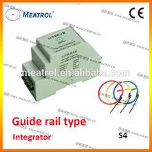 Chinese Flexible Rogowski coil Guide rail integrator S4 series