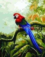 Parrot Diy Digital Oil Painting