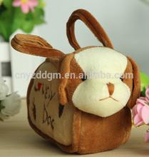 Plush Animal shape money handbag