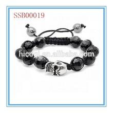 2014 new arrival hot sale colorful shamballa bracelet