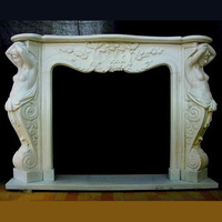 Hand Carved Fireplace Surrounds Indoor Fireplace Design SF66