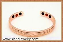 Pure copper Magnetic Energy Germanium BALANCE Power Bracelet Health magnetic bracelet balance