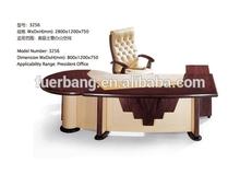 Ofis mobilyaları masif ahşap yönetici masası, kullanılan masif ahşap masa, kiraz yönetici masası