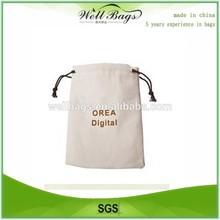 Custom drawstring shoe bag, organic cotton bag, drawstring bags