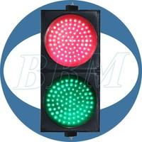 200mm solar traffic light system