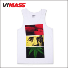 wholesale China clothing mens gym tank top , Custom high quality tank top for men