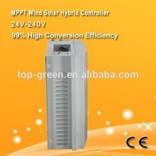 1.5kw 24v/48v/960v/120v/220v wind solar hybrid controller/ LCD display/ intelligent hybrid controller with seperate dump load