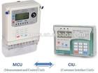 DTSY1398 Three phase STS split prepaid energy meter/three phase Split PLC prepaid energy meter/three phase GPRS prepaid meter