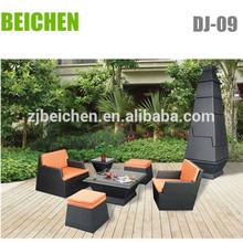 courtyard wicker coffee set/patio wicker set
