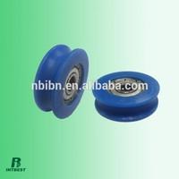 sliding windows and doors deep U groove plastic roller bearings