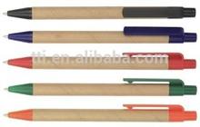 ECO Paper Pen Recycled Promotional Kraft Logo cheap SA8000 SMETA 4 pillar audit China factory environmental friendly pen