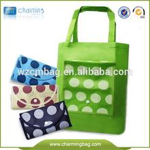 Foldable classical non woven bag for shopper
