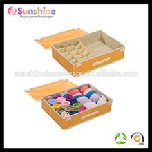 colour Drawer Organiser bra and underwear storage boxes beauty organizer box