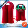 2 pack Neoprene beer bottle holder bag for outdoor usage