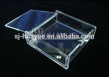 Retailers General Merchandise Mini Acrylic Chocolate Box Display/Clear Acrylic Box Wholesale/Acrylic Display