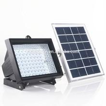 optically controller 80 leds solar flood light with solar panel 5V