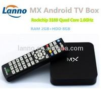 XBMC mx Android TV box MX2 Aml Amlogic 8726 MX Dual core 1.5GHz 1GB RAM 8GB smart tv box mx mid M6 EM6 night droid tv box