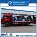Faw 6x4 placa plana caminhão de transporte/recipiente de mesa reboque de transporte