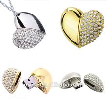 Top sale!Diamond USB Flash Drive 8GB , Jewelry USB Flash Drive 8GB