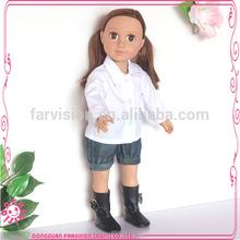 Venta al por mayor negro trapo muñecas en dongguan farvision 0586