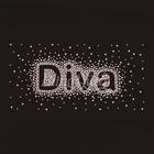 Rhinestone Iron On Transfers Motifs Scatter Diva Design