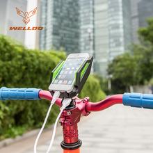 CE ROHS 6000mAh power bank bicycle accessories bike phone holder