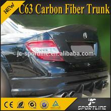 V Design C63 Carbon Fiber Trunk For Mercedes Benz W204 AMG 08-12