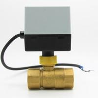 Popular Brass Electric Actuator Valve